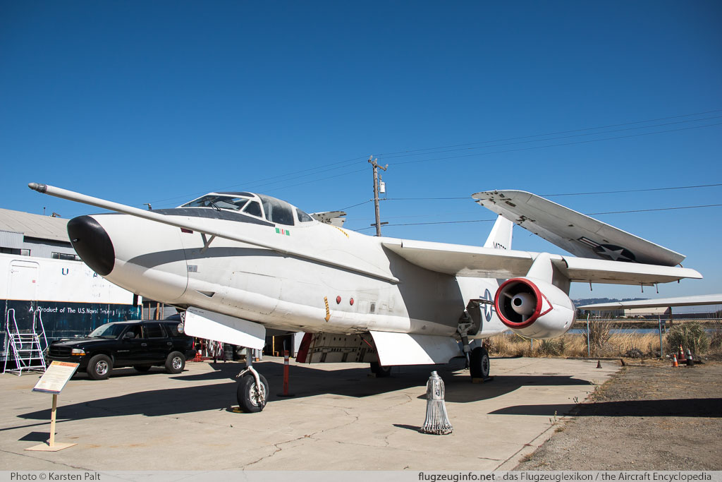 Douglas KA-3B Skywarrior United States Navy 147666 12430 Oakland Aviation Museum Oakland, CA 2016-10-09 � Karsten Palt, ID 13165