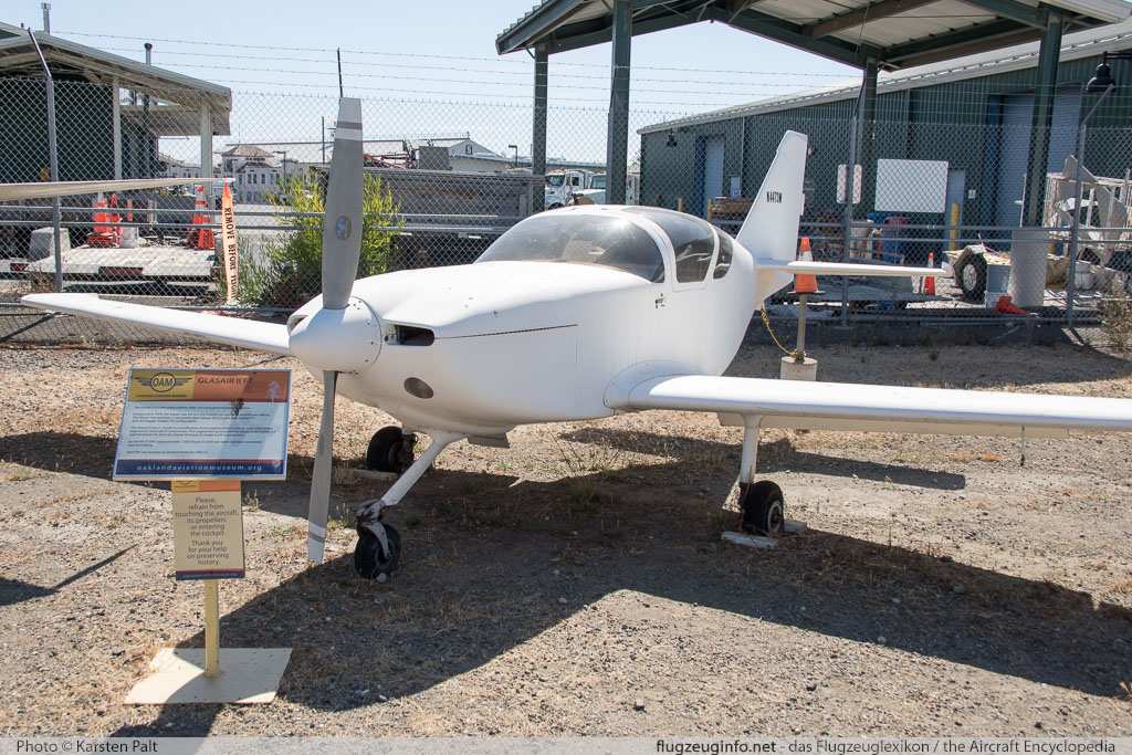 Glasair SH-II FT  N4473W  Oakland Aviation Museum Oakland, CA 2016-10-09 � Karsten Palt, ID 13168