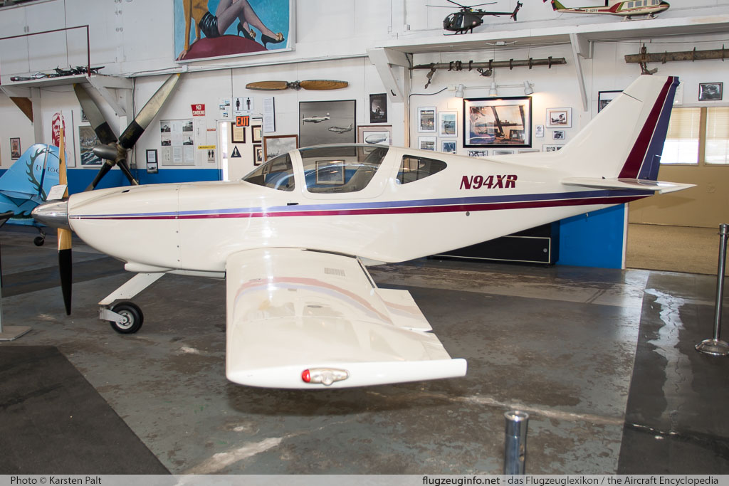 Glasair SH-II RG  N94XR  Oakland Aviation Museum Oakland, CA 2016-10-09 � Karsten Palt, ID 13169