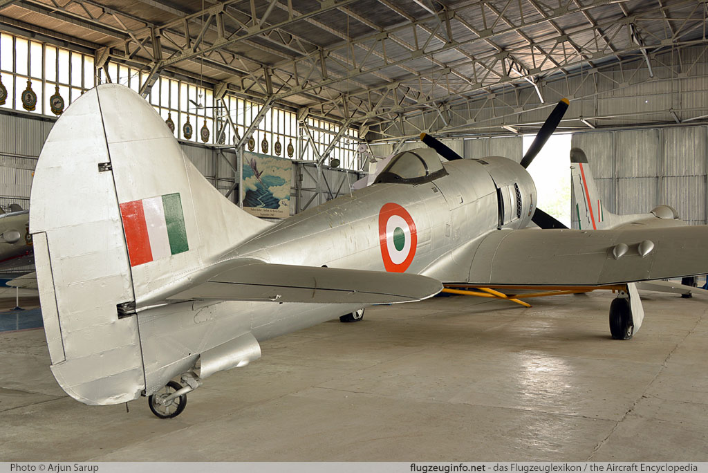 Hawker Tempest Indian Air Force HA623   Indira Gandhi International Airport (VIDP / DEL) 2014-04-19 � Arjun Sarup, ID 13057