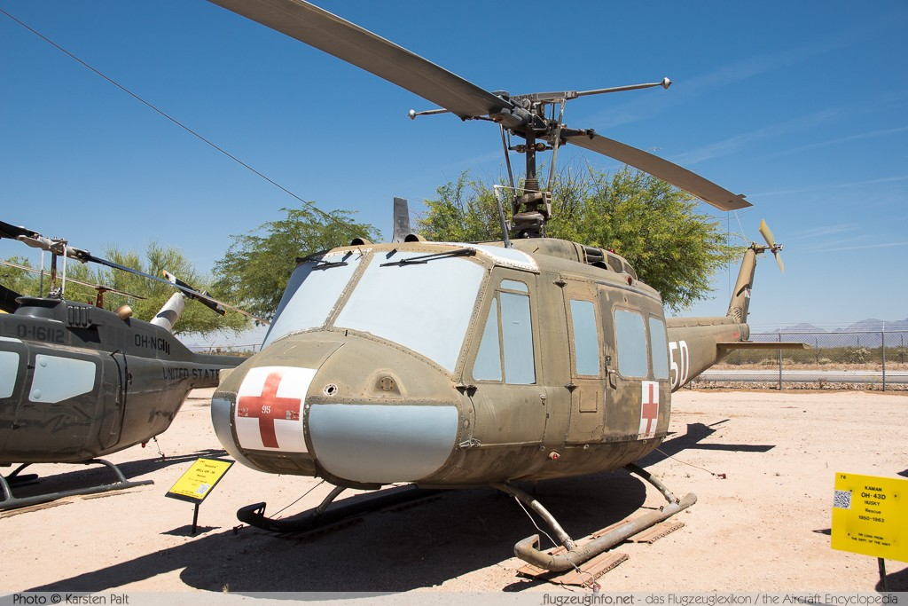 Bell Helicopter 205 UH-1H Iroquois United States Army 64-13895 4602 Pima Air and Space Museum Tucson, AZ 2015-06-03 � Karsten Palt, ID 10896