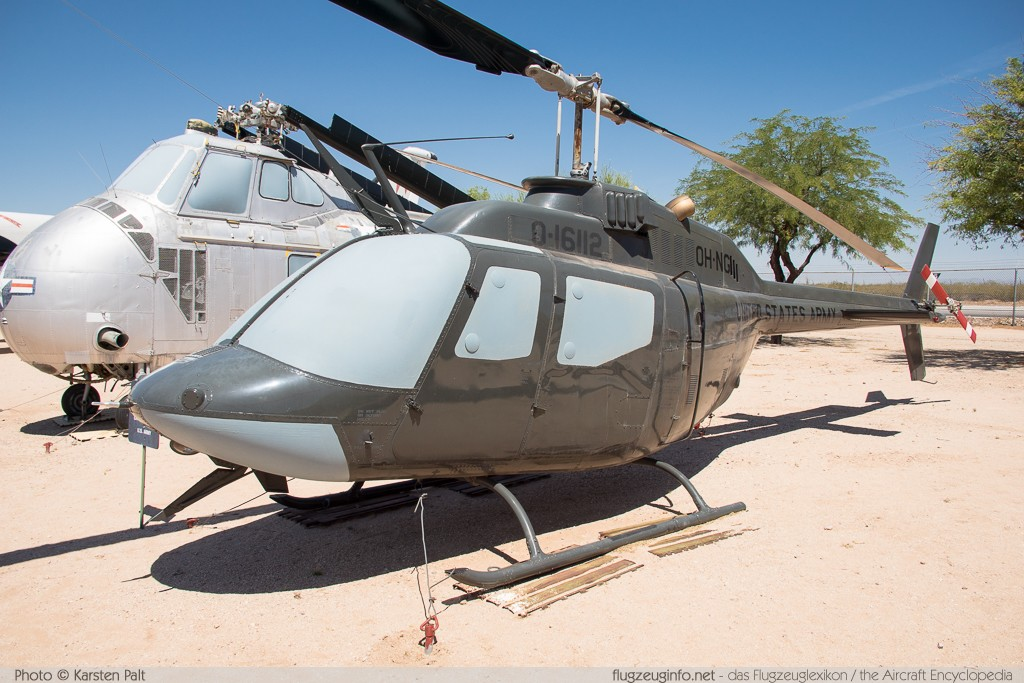 Bell Helicopter OH-58A Kiowa United States Army 69-16112 40333 Pima Air and Space Museum Tucson, AZ 2015-06-03 � Karsten Palt, ID 10900
