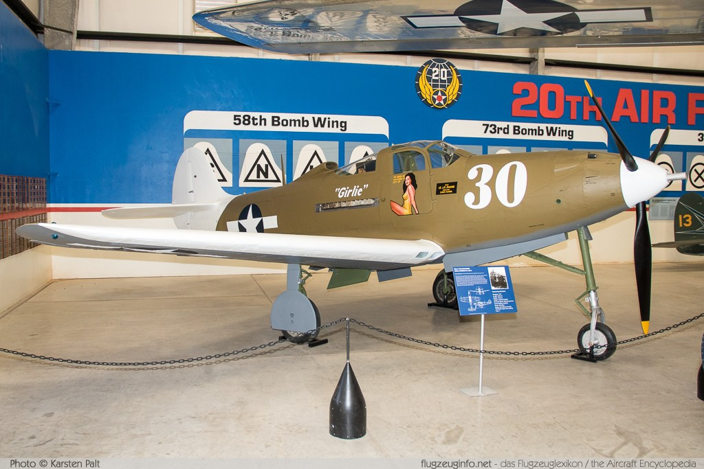 Bell P-39N Airacobra United States Army Air Forces (USAAF) 42-18814  Pima Air and Space Museum Tucson, AZ 2015-06-03 � Karsten Palt, ID 10902