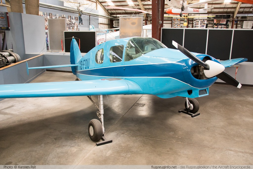 Bellanca 14-13-2 Crusair Senior  XB-FOU 1551 Pima Air and Space Museum Tucson, AZ 2015-06-03 � Karsten Palt, ID 10903