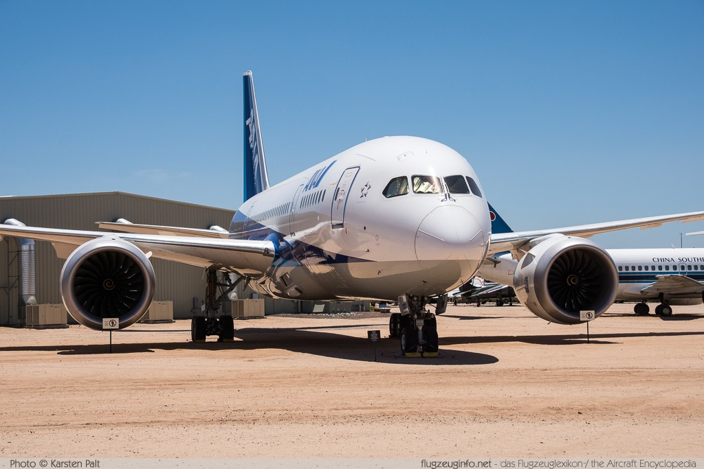 Boeing 787-8 Dreamliner - Specifications - Technical Data