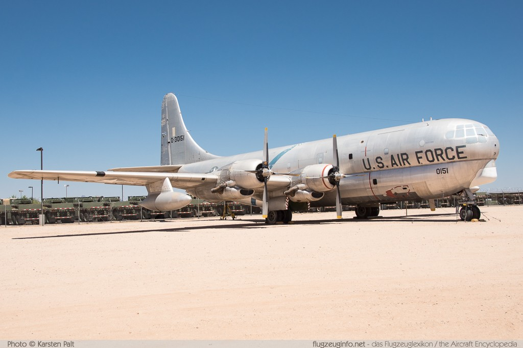 Boeing KC-97G Stratofreighter United States Air Force (USAF) 53-0151 16933 Pima Air and Space Museum Tucson, AZ 2015-06-03 � Karsten Palt, ID 10923