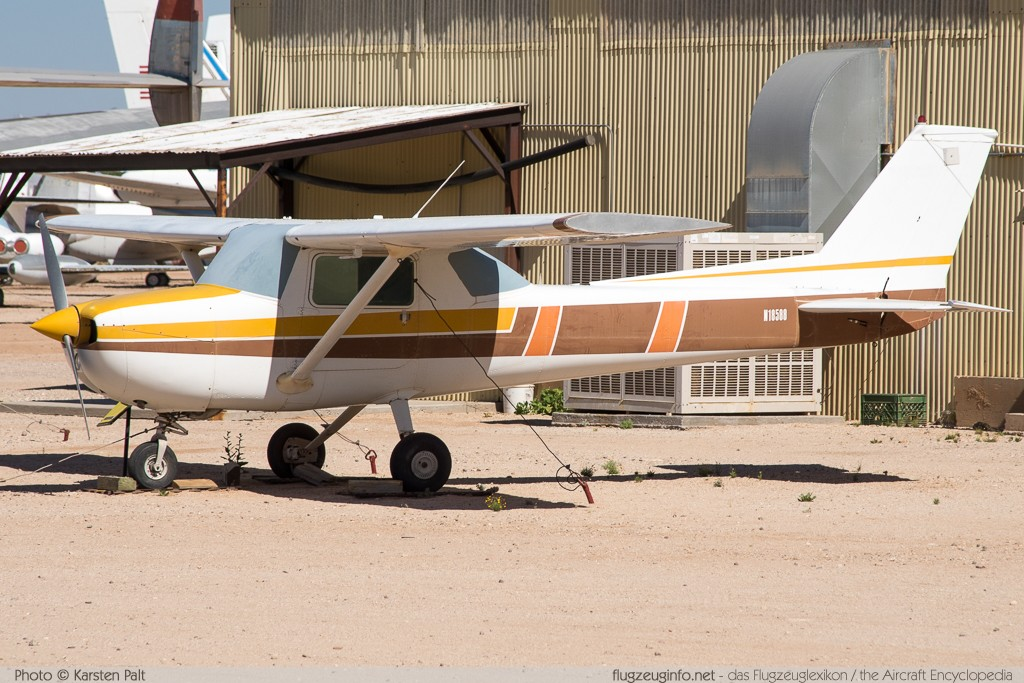 Cessna 150L  N18588 15073966 Pima Air and Space Museum Tucson, AZ 2015-06-03 � Karsten Palt, ID 10942