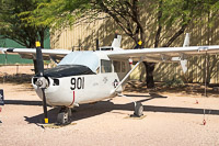 Cessna O-2A Skymaster United States Air Force (USAF) 68-6901 337M-0190 Pima Air and Space Museum Tucson, AZ 2015-06-03, Photo by: Karsten Palt