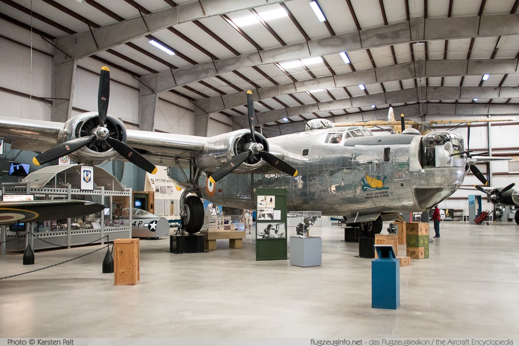Consolidated B-24J Liberator (GR Mk.VI) United States Army Air Forces (USAAF) 44-44175 1470 Pima Air and Space Museum Tucson, AZ 2015-06-03 � Karsten Palt, ID 10955