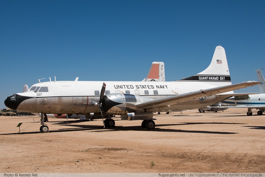 Convair C-131F Samaritan United States Navy 141017 300 Pima Air and Space Museum Tucson, AZ 2015-06-03 � Karsten Palt, ID 10962