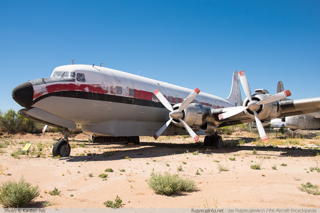 Douglas DC-7B  N51701 44701 / 593 Pima Air and Space Museum Tucson, AZ 2015-06-03 � Karsten Palt, ID 10999
