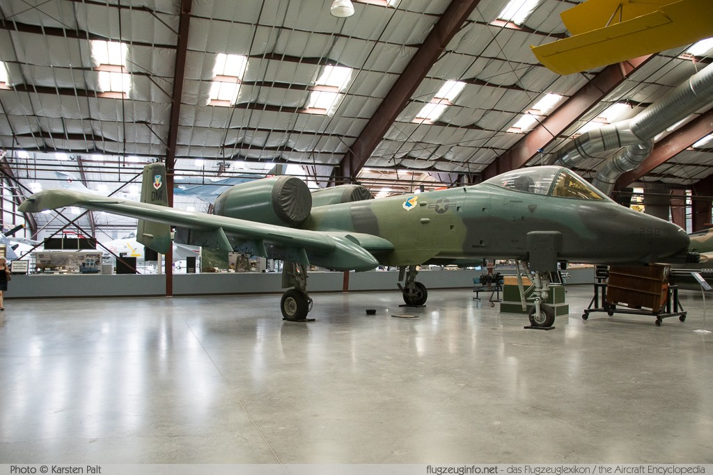 Fairchild Republic A-10A Thunderbolt II United States Air Force (USAF) 75-0298 A10-0047 Pima Air and Space Museum Tucson, AZ 2015-06-03 � Karsten Palt, ID 11023