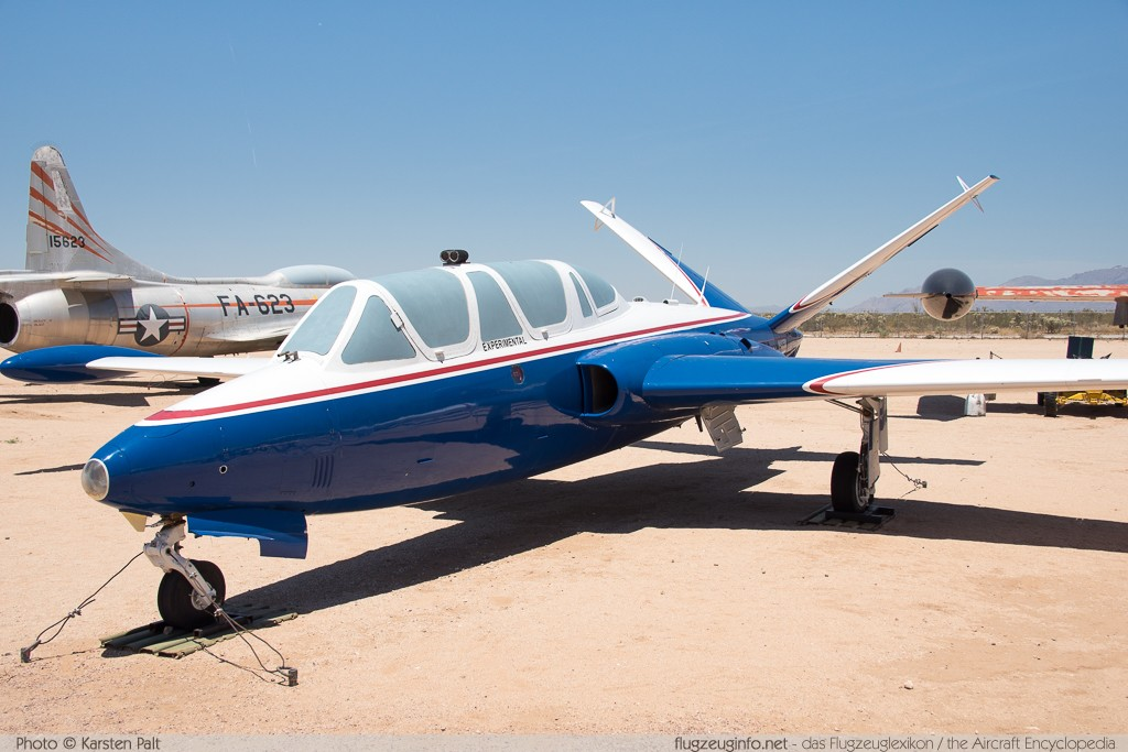 Fouga CM170 Magister  N492FM 492 Pima Air and Space Museum Tucson, AZ 2015-06-03 � Karsten Palt, ID 11029