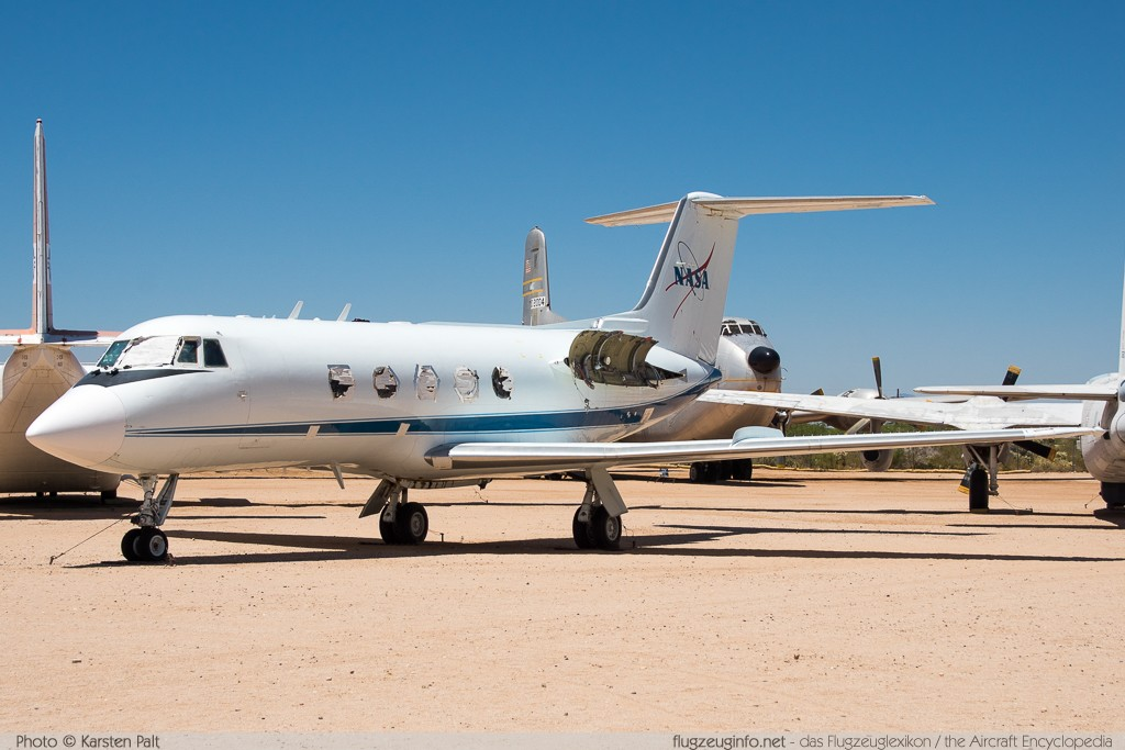 Gulfstream Aerospace Gulfstream II NASA N948NA 222 Pima Air and Space Museum Tucson, AZ 2015-06-03 � Karsten Palt, ID 11060
