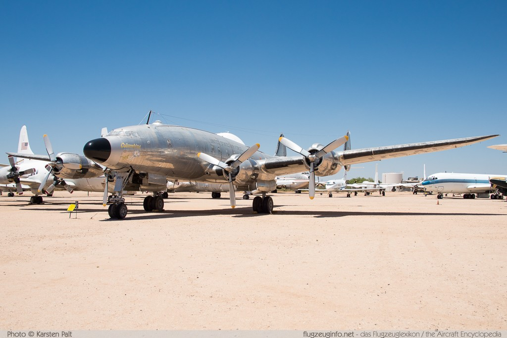 Lockheed C-121A Constellation (L-749) United States Air Force (USAF) 48-0614 2606 Pima Air and Space Museum Tucson, AZ 2015-06-03 � Karsten Palt, ID 11080