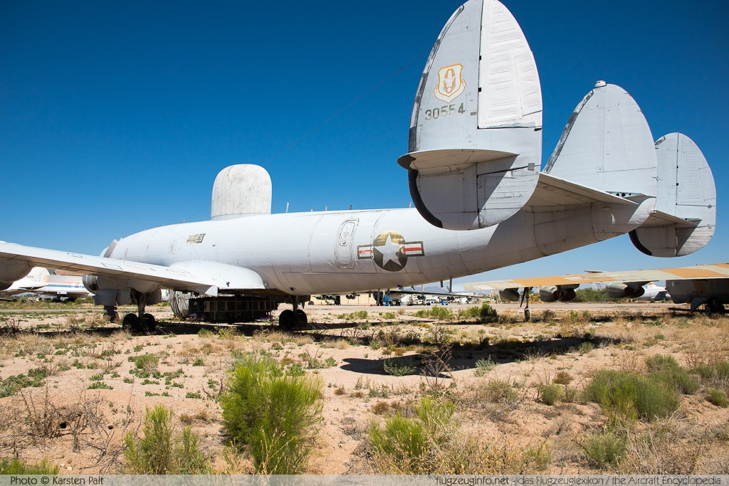 Lockheed EC-121T Warning Star United States Air Force (USAF) 53-0554 4369 Pima Air and Space Museum Tucson, AZ 2015-06-03 � Karsten Palt, ID 11087