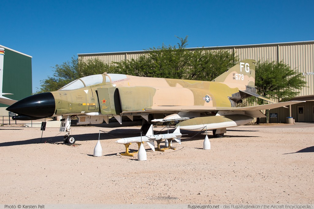 McDonnell F-4C Phantom II United States Air Force (USAF) 64-0673 898 Pima Air and Space Museum Tucson, AZ 2015-06-03 � Karsten Palt, ID 11121