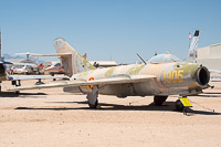 Mikoyan Gurevich MiG-17F Vietnam Air Force 1905 101905 Pima Air and Space Museum Tucson, AZ 2015-06-03, Photo by: Karsten Palt