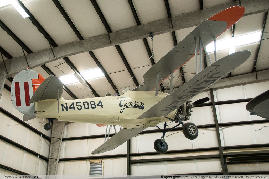 Naval Aircraft Factory N3N-3 Jensen Flying Service N45084 4497 Pima Air and Space Museum Tucson, AZ 2015-06-03 � Karsten Palt, ID 11143