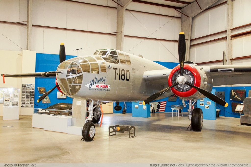 North American B-25J Mitchell United States Army Air Forces (USAAF) 43-27712 108-34725 Pima Air and Space Museum Tucson, AZ 2015-06-03 � Karsten Palt, ID 11144