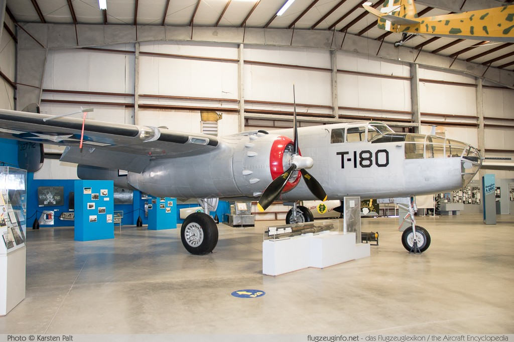 North American B-25J Mitchell United States Army Air Forces (USAAF) 43-27712 108-34725 Pima Air and Space Museum Tucson, AZ 2015-06-03 � Karsten Palt, ID 11145