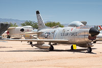North American F-86L Sabre United States Air Force (USAF) 53-0965 201-409 Pima Air and Space Museum Tucson, AZ 2015-06-03, Photo by: Karsten Palt
