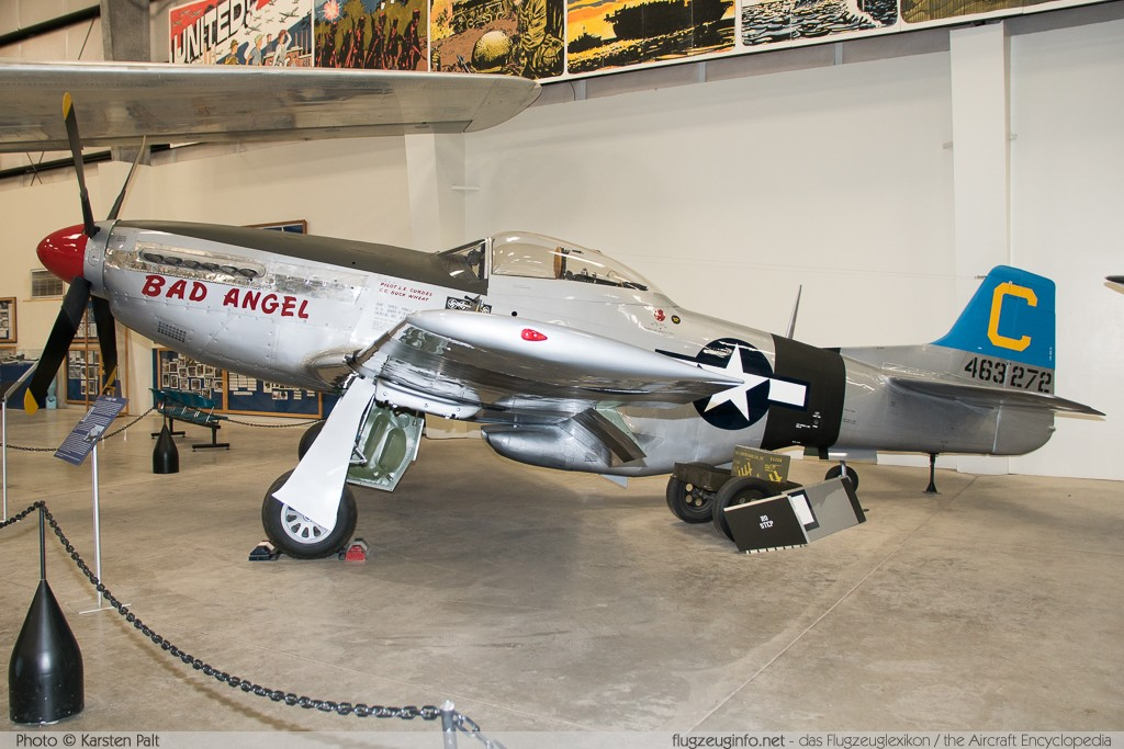 North American P-51D Mustang United States Army Air Forces (USAAF) 44-63272 122-30997 Pima Air and Space Museum Tucson, AZ 2015-06-03 � Karsten Palt, ID 11155