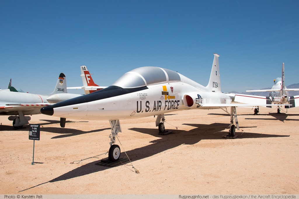 Northrop T-38A Talon United States Air Force (USAF) 61-0854 N5220 Pima Air and Space Museum Tucson, AZ 2015-06-03 � Karsten Palt, ID 11169