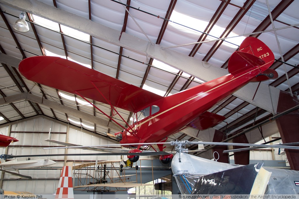 Piper J-4A Cub Coupe  NC22783 4-469 Pima Air and Space Museum Tucson, AZ 2015-06-03 � Karsten Palt, ID 11175