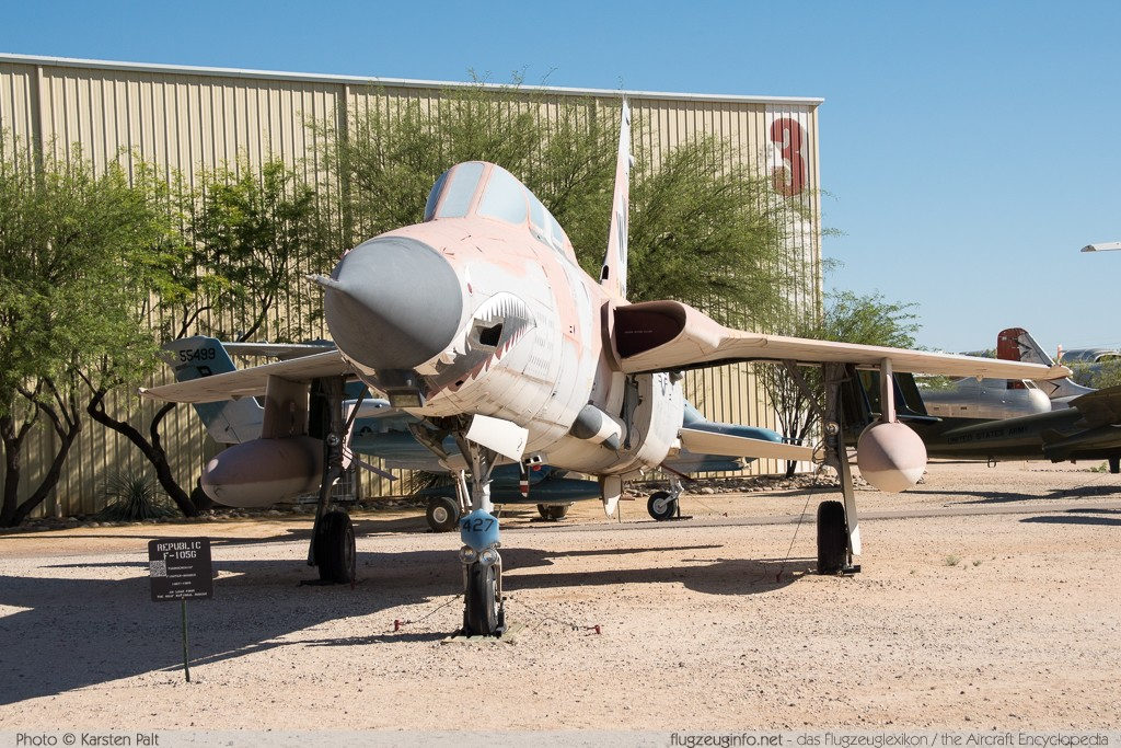 Republic F-105G Thunderchief United States Air Force (USAF) 62-4427 F16 Pima Air and Space Museum Tucson, AZ 2015-06-03 � Karsten Palt, ID 11180