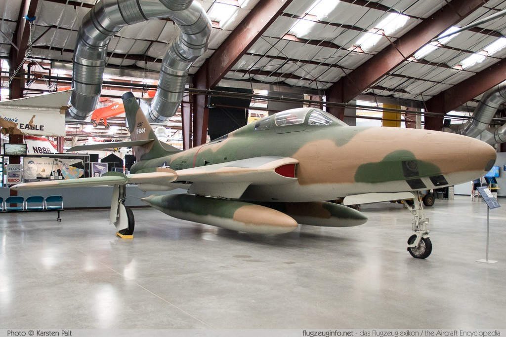 Republic RF-84F Thunderflash United States Air Force (USAF) 51-1944  Pima Air and Space Museum Tucson, AZ 2015-06-03 � Karsten Palt, ID 11183