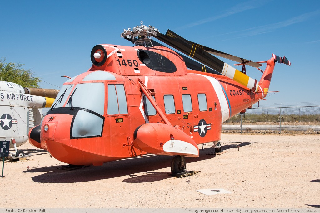 Sikorsky HH-52A Seaguard United States Coast Guard 1450 62-133 Pima Air and Space Museum Tucson, AZ 2015-06-03 � Karsten Palt, ID 11194