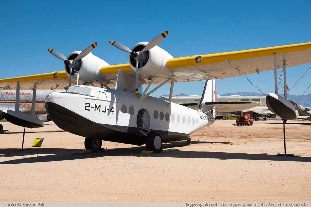 Sikorsky S-43 Baby Clipper  NC16934 4325 Pima Air and Space Museum Tucson, AZ 2015-06-03 � Karsten Palt, ID 11200
