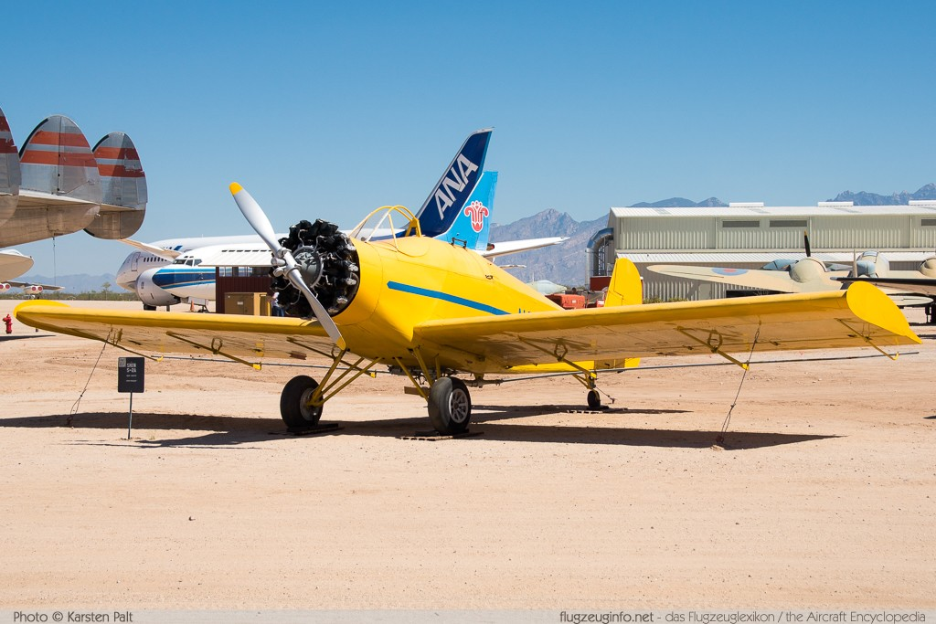 Snow S-2A  N3695F 1010 Pima Air and Space Museum Tucson, AZ 2015-06-03 � Karsten Palt, ID 11204
