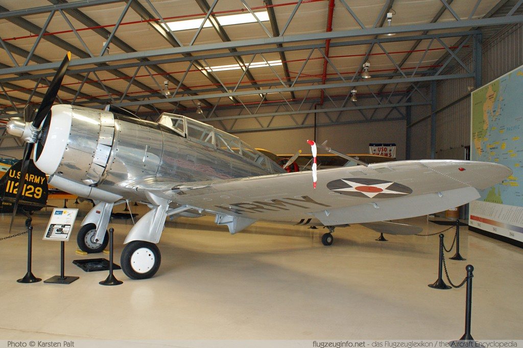 Seversky 2PA / AT-12 Guardman  NX55539 483-38 Planes of Fame Aircraft Museum Chino, CA 2012-06-12 � Karsten Palt, ID 6046