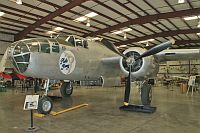 North American B-25J Mitchell  N3675G 108-33698 Planes of Fame Aircraft Museum Chino, CA 2012-06-12, Photo by: Karsten Palt
