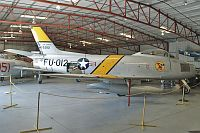 North American F-86F Sabre  NX186AM 191-708 Planes of Fame Aircraft Museum Chino, CA 2012-06-12, Photo by: Karsten Palt