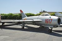 Mikoyan Gurevich / WSK PZL-Mielec Lim-5P (MiG-17PF) Polish Air Force 1617 1C-1617 Planes of Fame Aircraft Museum Chino, CA 2012-06-12, Photo by: Karsten Palt