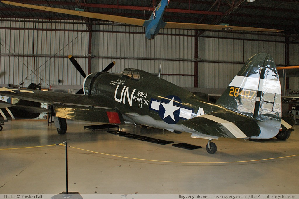 Republic P-47G Thunderbolt  NX3395G 42-25254 Planes of Fame Aircraft Museum Chino, CA 2012-06-12 � Karsten Palt, ID 6113