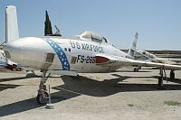Republic RF-84K Thunderflash US Air Force (USAF) 52-7265  Planes of Fame Aircraft Museum Chino, CA 2012-06-12, Photo by: Karsten Palt