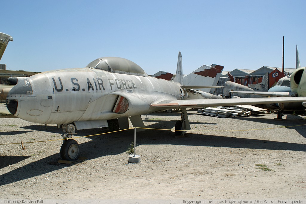 Lockheed T-33A United States Air Force (USAF) 53-5156 580-8495 Planes of Fame Aircraft Museum Chino, CA 2012-06-12 � Karsten Palt, ID 6133