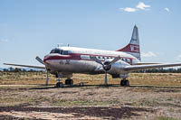 Convair 240-1 Western Airlines N240HH 47 Planes of Fame Air Museum Valle Valle, AZ 2016-10-11, Photo by: Karsten Palt