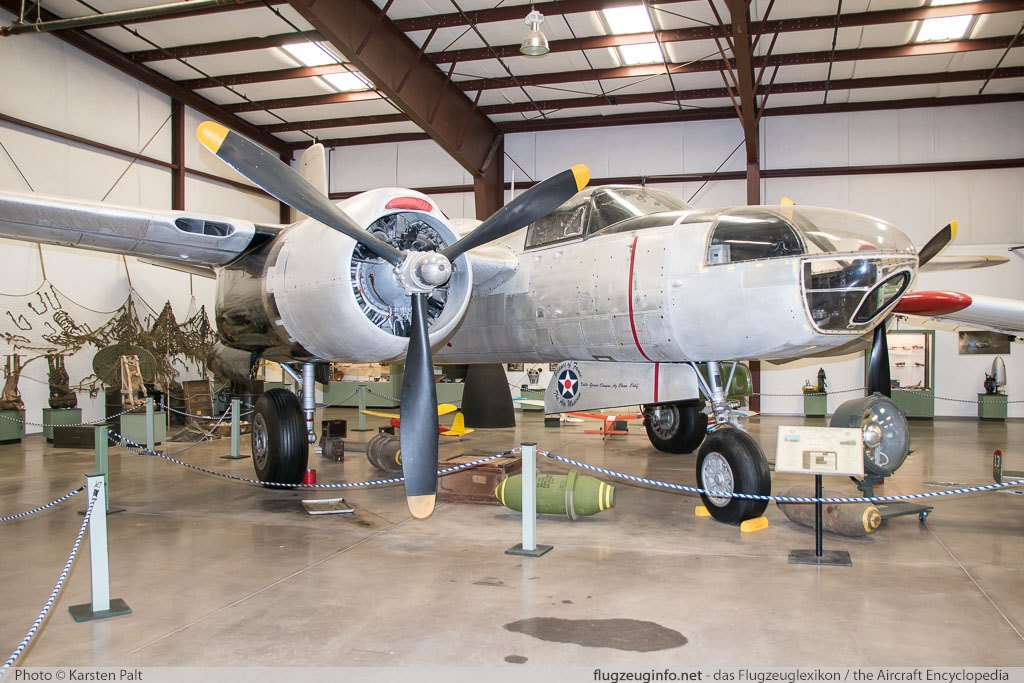 Douglas RB-26C Invader United States Air Force (USAF) 44-35323 28602 Planes of Fame Air Museum Valle Valle, AZ 2016-10-11 � Karsten Palt, ID 13285