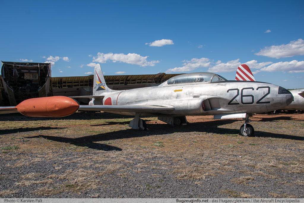 Lockheed T-33A United States Air Force (USAF) 53-5341 580-8680 Planes of Fame Air Museum Valle Valle, AZ 2016-10-11 � Karsten Palt, ID 13295