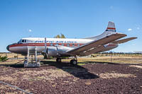 Martin 4-0-4 Skyliner Pacific Air Lines N636X 14135 Planes of Fame Air Museum Valle Valle, AZ 2016-10-11, Photo by: Karsten Palt