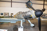 Messerschmitt Bf 109G-10 Luftwaffe (Wehrmacht) 611943 611943 Planes of Fame Air Museum Valle Valle, AZ 2016-10-11, Photo by: Karsten Palt