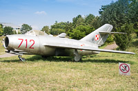 Mikoyan Gurevich / WSK PZL-Mielec Lim-1 (MiG-15bis) Polish Air Force 712 1A-07012 Polish Aviation Museum Krakow 2015-08-22, Photo by: Karsten Palt