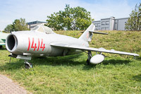 Mikoyan Gurevich / WSK PZL-Mielec Lim-5R (MiG-17) Polish Air Force 1414 1C-1414 Polish Aviation Museum Krakow 2015-08-22, Photo by: Karsten Palt