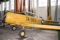 North American T-6G Texan United States Air Force (USAF) 49-2983 168-87 Polish Aviation Museum Krakow 2015-08-22, Photo by: Karsten Palt