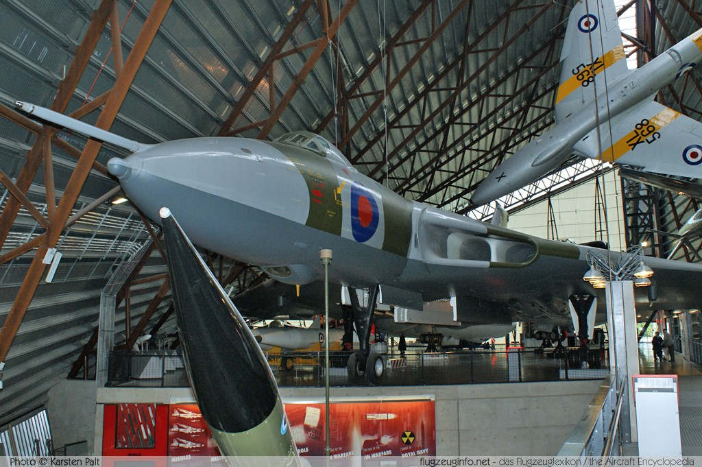 Avro 698 Vulcan B.2 Royal Air Force XM598  Royal Air Force Museum Cosford Shifnal, Shropshire 2013-05-17 � Karsten Palt, ID 6659